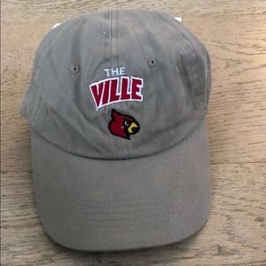 The Ville Louisville Cardinals Embroidered Hat cap